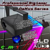 50% OFF - Nexus DJ Basic Lights  Big Laser Moving with HUD - Economic lights for your club, party, ballroom, copy & mod