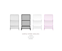 = DAE = Simple store shelves pack