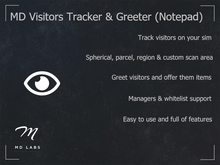 MD Visitor Tracker & Greeter (Notepad)