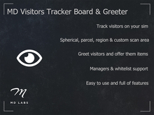 MD Visitor Tracker Board & Greeter