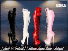 [Mesh] [ 6 Textured ] [ Inithium Kupra ] Boots - Babygirl