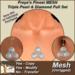 Freya's Finest MESH Triple Pearl & Diamond Full Set