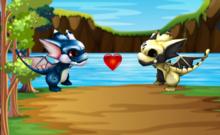 [Card Animals] Breedable Animated MINI Dragon - Racing, Breeding and Card Trading Game. (No Food, rez or upkeep)