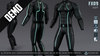 *DEMO* FX09 CatSuit for Men (100% Fitted) [Neurolab Inc.]