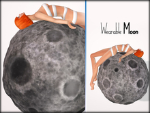 Boudoir-Wearable Moon