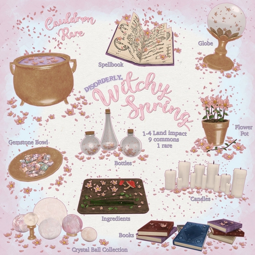 DISORDERLY. / Witchy Spring / Gemstone Bowl