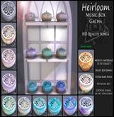 3rd Eye_ Heirloom 11 Music Box RARE