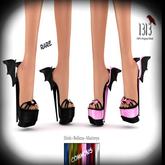 (*<*) 1313 Batty Boop Slides - Black RARE