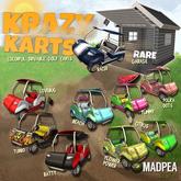 MadPea Krazy Karts - Garage (t) RARE