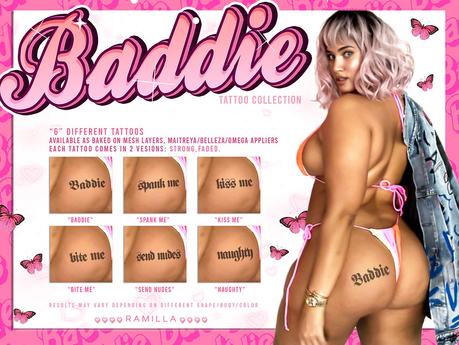 RAMILLA. - Baddie Tattoo Collection