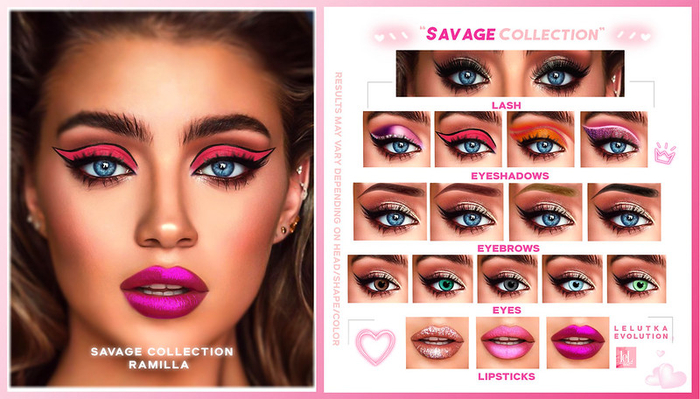 RAMILLA. - Savage Collection (Lelutka Evolution) DEMO