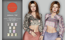 KiB Designs - Oksana Top FATPACK