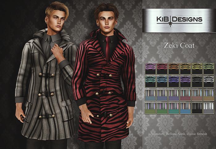 KiB Designs - Zeki Coat FATPACK