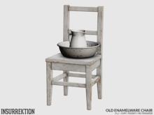 [IK] Old Enamelware - Chair