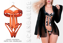 Scandalize. Alvida. Orange