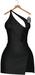 JF Design - Yasmin Dress/Panty - Black