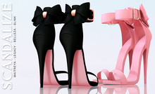 Scandalize. Sonhya Heels. FATPACK