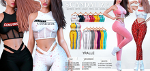 Scandalize. Yralle. FATPACK