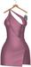 JF Design - Yasmin Dress/Panty - PaleVioletRed