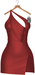 JF Design - Yasmin Dress/Panty - Red