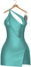 JF Design - Yasmin Dress/Panty - Turquoise