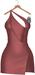 JF Design - Yasmin Dress/Panty - Wine