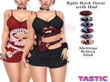 Tastic-Rylie Rock Dress with Hud