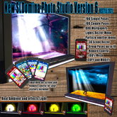 SLD ORIGINAL Photo Studio V6 PRO Classic, 700 Poses, group, couple, 800 Background particles, emoticons, Lights system