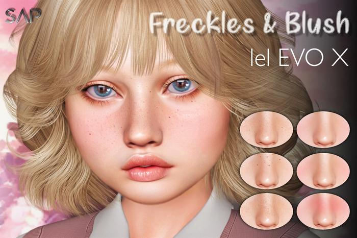 Sap ~ Freckles & Blush [Lelutka Evo X]