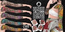 Schadenfreude Kiku (Chrysanthemum) Sleeves Tattoos