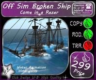 * New Off Sim * Broken Ship *