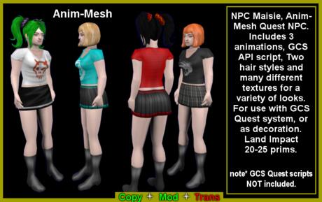Maisie animesh NPC (boxed)