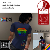 Slink Physique Male Pride T-shirt -Box