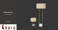 [ID) Kell Floor Lamp - Touch ON/OFF
