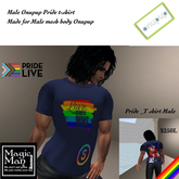 Onupup Male Pride T-shirt Box