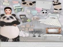 LAGOM-PandaCraze [Desk] RARE