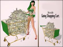Boudoir-Wearable Going Shopping Cart
