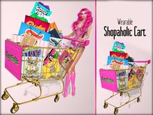 Boudoir-Wearable Shopaholic Cart