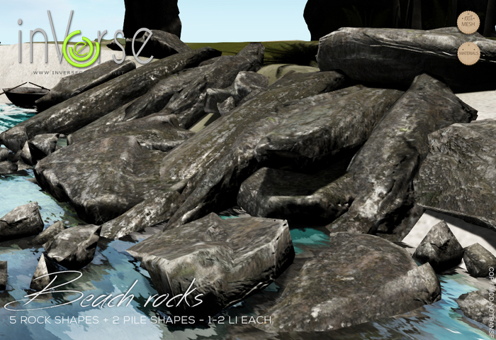 Beach rocks  - hi- resolution