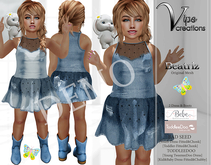 [Vips Creations] - DEMO - Original Mesh Dress-[Beatriz Jean-Kid
