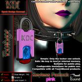 KDC Keyless padlock - pink
