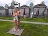 Dutchie Mesh Outdoor Shower PG: Garden or Beach Shower with 20 solo, 10 couple animations, Bento hands, Colorchange