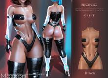 [[ Masoom ]] Bionic Suit Black - Kupra, Legacy, Legacy Perky, Legacy Petite, Lara, Lara Petite