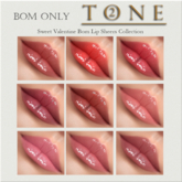 TONE 2 - BOMS Sweet Valentines Lip Sheers Col (wear to open)