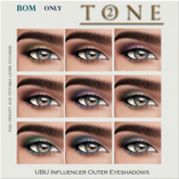 TONE 2 - BOMS UBU Influencer Outer Shadows (wear to open)