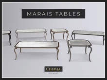 ChiMia:: Marais Coffee Table & Side Table