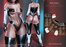 [[ Masoom ]] Bionic ALL FATPACK - Kupra, Legacy, Legacy Perky, Legacy Petite, Lara, Lara Petite