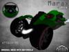 :PM: Cyberpunk Motorcycle Marax - Green