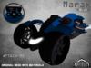 :PM: Cyberpunk Motorcycle Marax - Blue