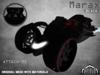 :PM: Cyberpunk Motorcycle Marax - Black
